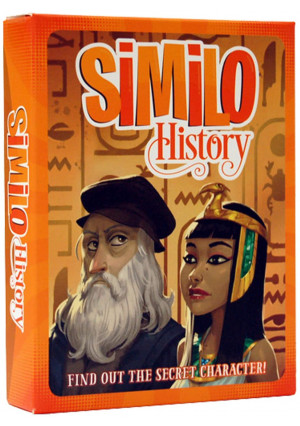 Similo History: A Cooperative Deduction Card Game Featuring Historical Characters