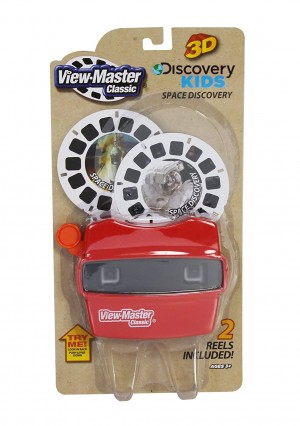 Basic Fun View Master Classic Viewer with 2 Reels Space Discovery Toy